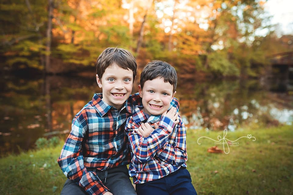 Fall Family Mini Session | CT Family Photographer Elizabeth Frederick Photography