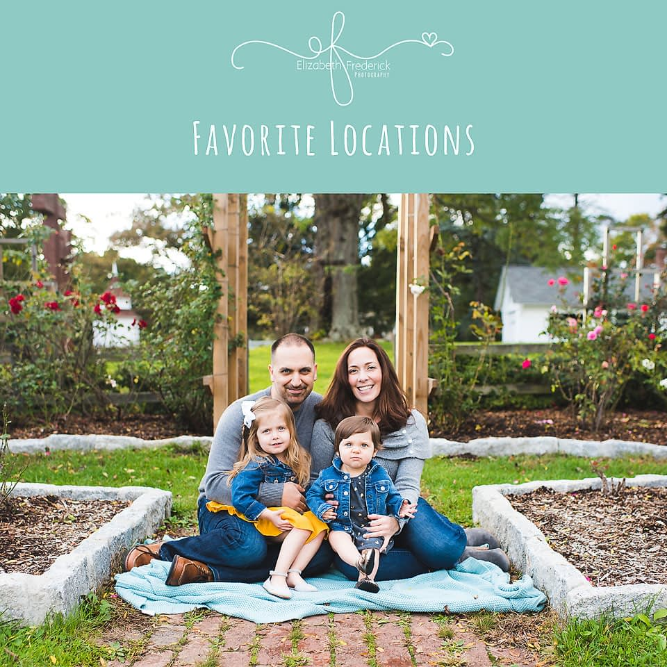 Favorite Photography locations in Connecticut | CT photographer Elizabeth Frederick Photography