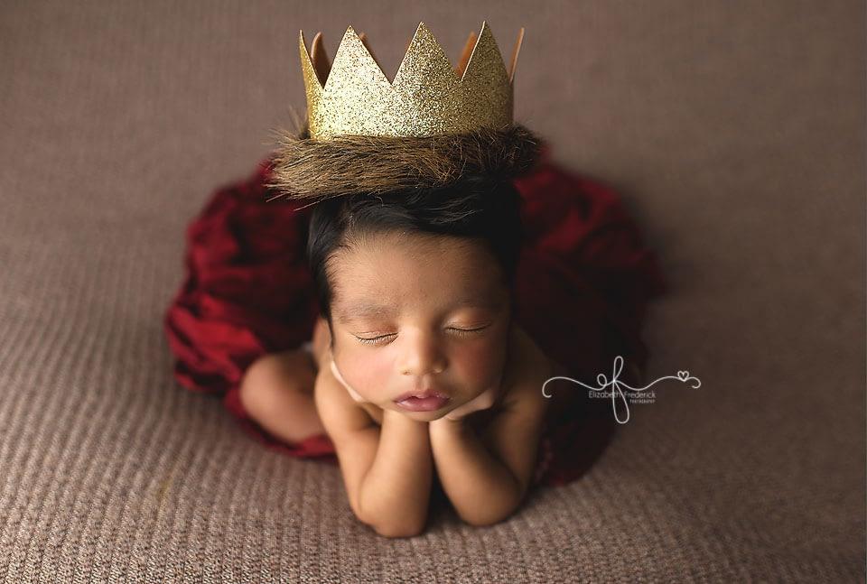 Little Prince : CT Newborn Photographer Elizabeth Frederick Photography