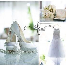 Bridal Details | Bridal Shoes, Rosaries & Dress |Waterview Monroe, CT Wedding Photographer | Manchester CT Wedding Photographer